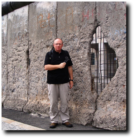Self defense weapon at the berlin wall Germany