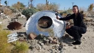 Defender 1 at a UFO crash site...hmmm