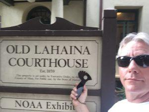 Defender 1 traveling in Hawaii