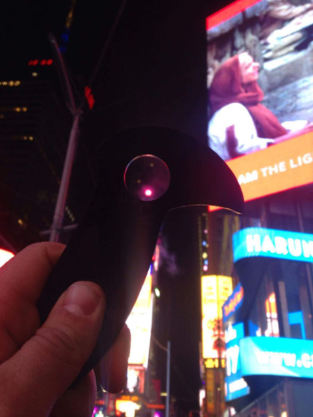 Spec Ops 2 in Time Square with the New Years Ball in the digit capture hole 2016