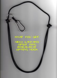 The New Self Defense Weapon neck lanyard!